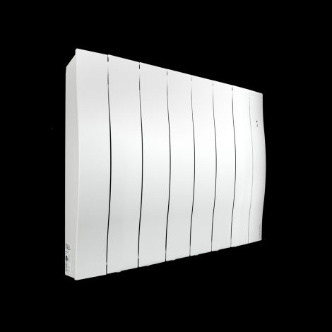 Atlantic Galapagos White Ecodesign Electric Radiator - 590mm high x 729mm wide