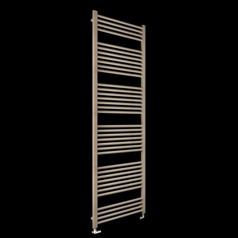 Bisque Deline Beige Quartz Tall & Large Heated Towel Rail - 1866mm high x 600mm wide
