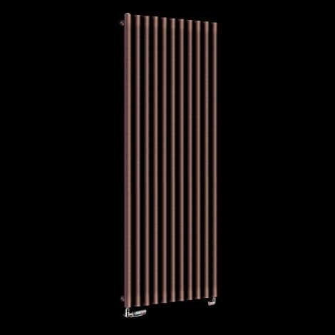Circolo High BTU Chocolate Brown Designer Radiator 1800mm high x 590mm wide,Small Image,Small Image,Small Image