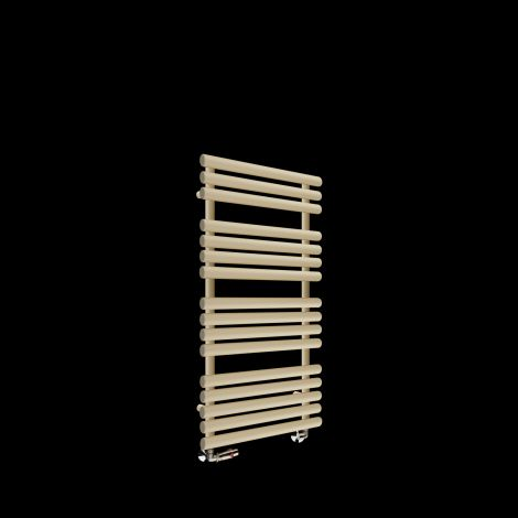 Cirtowelo Light Cream Heated Towel Rail 1085mm high x 520mm wide