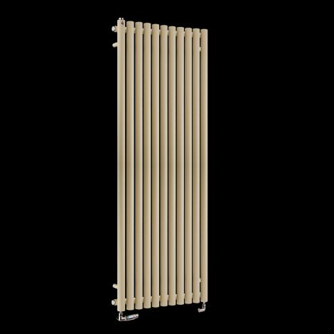 Circolo High BTU Light Cream Designer Radiator 1800mm high x 590mm wide
