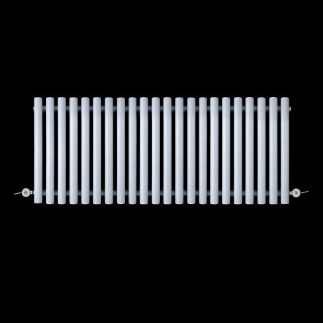 Circolo Low Level Light Grey Electric Radiator 500mm high x 1195mm wide