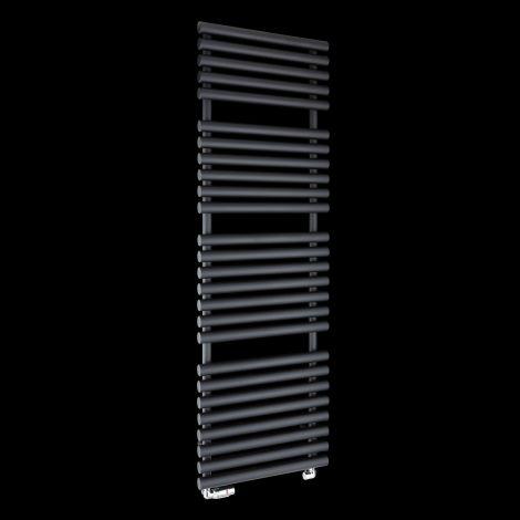 Cirtowelo Dark Grey Tall Large Heated Towel Rail 1580mm high x 520mm wide