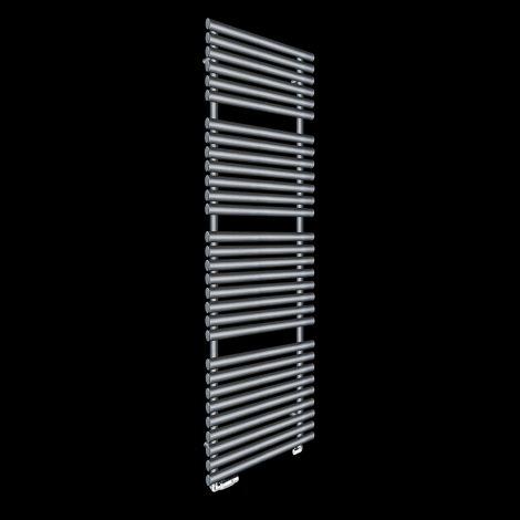 Cirtowelo Dark Grey Tall Large Heated Towel Rail 1800mm high x 520mm wide