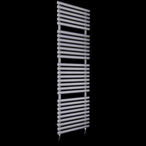 Cirtowelo Light Grey Tall Large Electric Towel Rail 1800mm high x 520mm wide