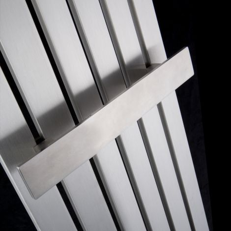 Flasteel brushed stainless steel towel bar 290mm wide