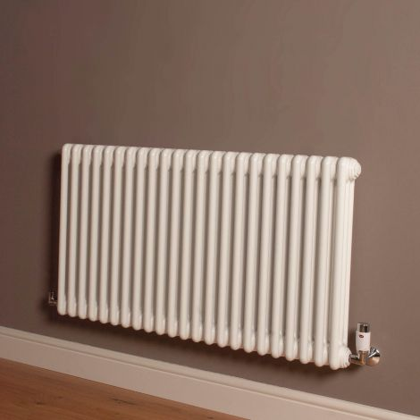 Old Style Gloss White 3 Column Radiator 600mm high x 1059mm wide,Small Image,Thumbnail Image,Small Image,Thumbnail Image,Thumbnail Image,Small Image