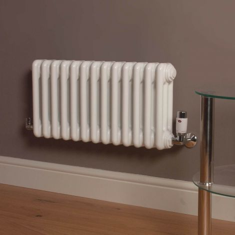 Old Style Gloss White 3 Column Radiator 300mm high x 609mm wide,Thumbnail Image,Thumbnail Image,Thumbnail Image,Thumbnail Image,Thumbnail Image,Thumbnail Image