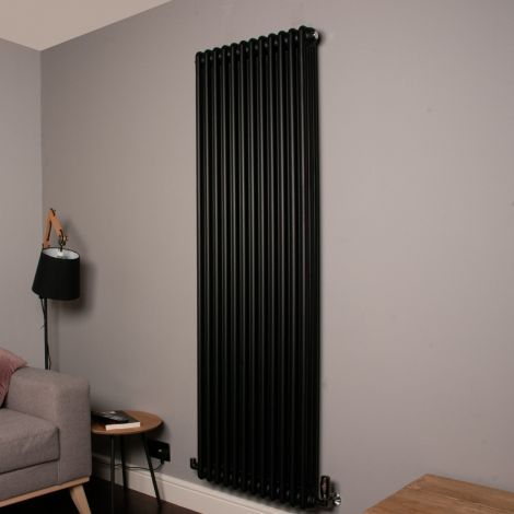 Old Style 10000 BTU Matt Anthracite 3 Column Radiator 1800mm high x 564mm wide,Thumbnail Image,,,,