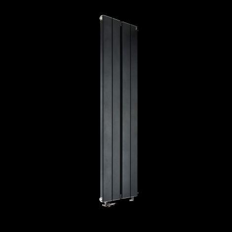 Torpedo Slimline Anthracite Designer Radiator 1500mm high x 395mm wide