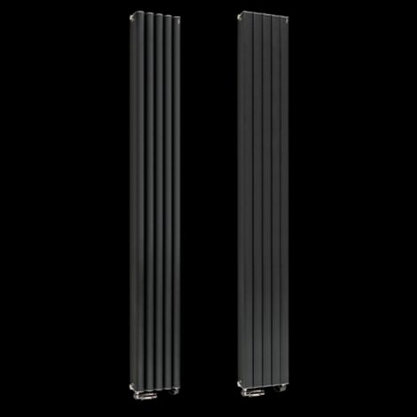 Torpedo High Output Anthracite Radiator 1800mm high x 245mm wide