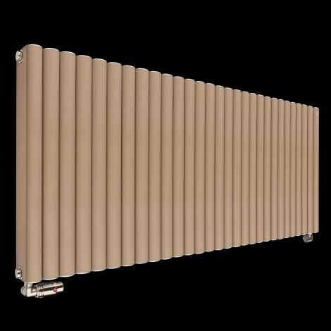 Torpedo High Output Long Sand Brown Radiator 600mm high x 1445mm wide