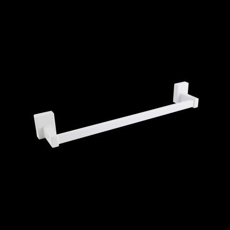 White magnetic towel bar accessory 445mm wide