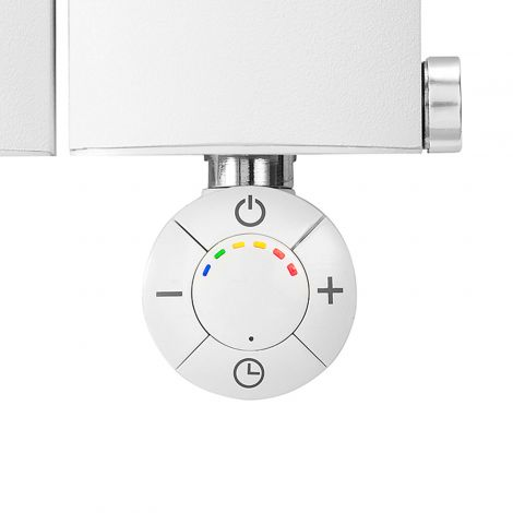 Geyser SMART White Thermostatic Element for Radiator or Towel rail