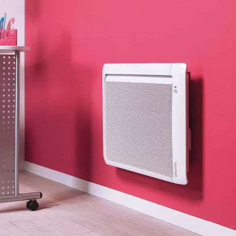 Atlantic Tatou Low Level White Ecodesign Electric Radiator - 470mm high x 840mm wide