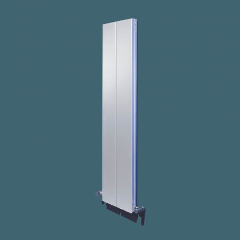 Bisque Blok White Vertical Designer Radiator