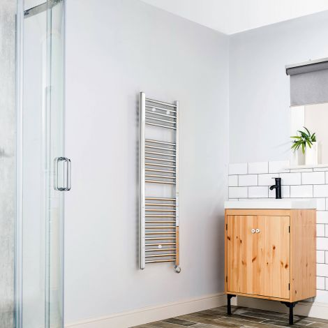 Chrome Straight Ladder 