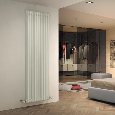 Bespoke Matt Smooth White Traditional 3 Column Radiators - Multiple Sizes