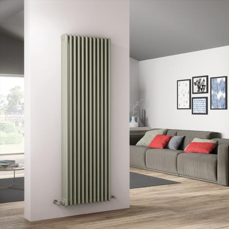 Bespoke Matt Smooth White Traditional 4 Column Radiators - Multiple Sizes