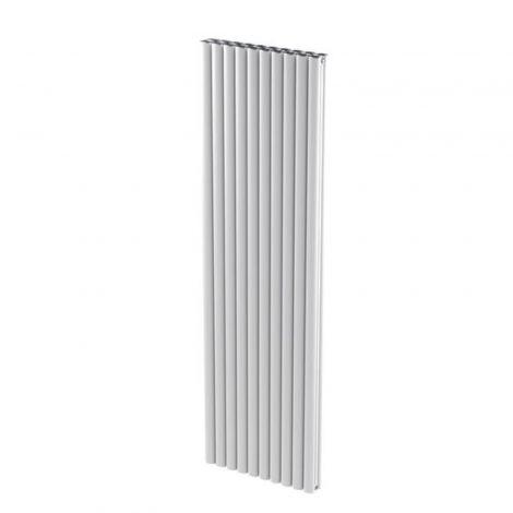 Portsmouth White Aluminium High Output Vertical Designer Radiator 1500mm high - Multiple Width Options