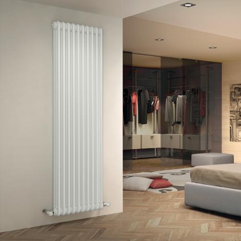 Bespoke Gloss White Traditional 3 Column Radiators - Multiple Sizes