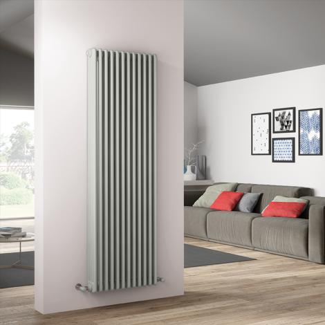 Bespoke Gloss White Traditional 4 Column Radiators - Multiple Sizes