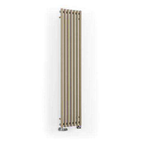 Terma Rolo Quartz Mocha Vertical Designer Radiator -  - 1800mm x 370mm
