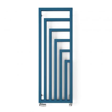 Terma Angus Azure Blue Vertical Designer Radiator - 1460mm x 520mm