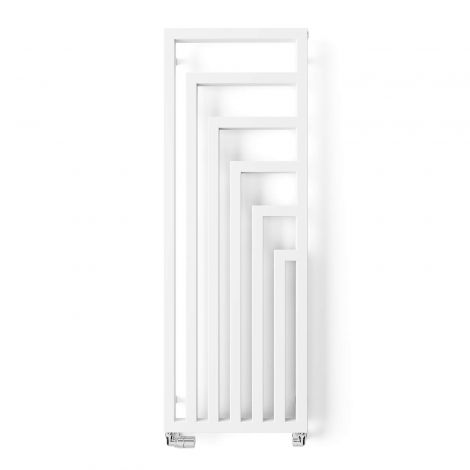Terma Angus White Vertical Designer Radiator - 1460mm x 520mm - Floating