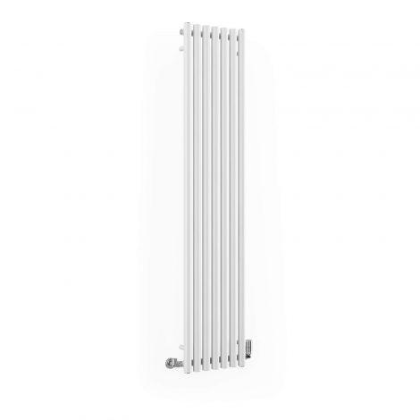 Terma Rolo White Vertical Designer Radiator - Multiple Sizes