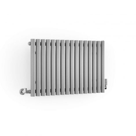 Terma Rolo Salt n Pepper Horizontal Radiator - 500mm x 865mm - Angled