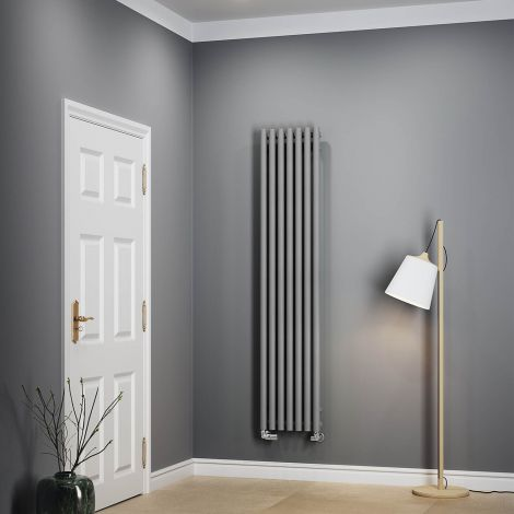 Terma Rolo Salt & Pepper Vertical Designer Radiator