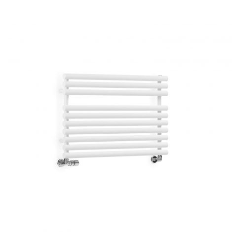 Terma Rolo Towel Radiator (White) - Multiple Sizes