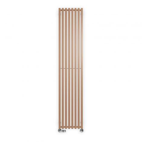 Terma Triga Bright Copper Vertical Designer Radiator - Multiple Sizes