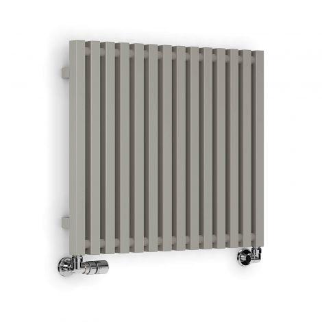 Terma Triga Metallic Stone Horizontal Designer Radiator - 610mm x 680mm