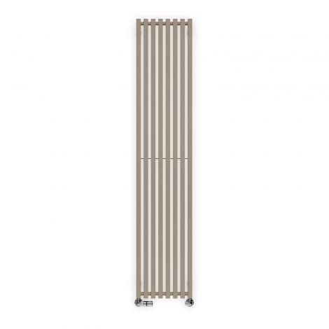 Terma Triga Quartz Mocha Vertical Designer Radiator - Multiple Sizes