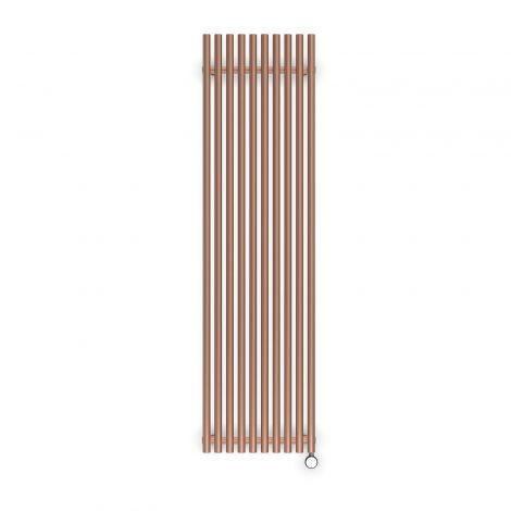 Terma Tune Bright Copper Electric Radiator - 1800mm x 490mm
