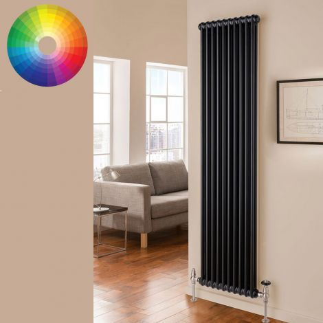 Old Style Vertical 2 Column Radiator 1800mm high x 474mm wide - 33 x Bespoke Colours