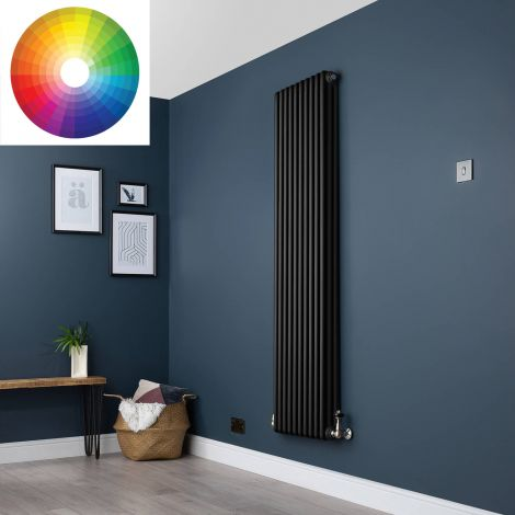 Old Style Vertical 3 Column Radiator 1800mm high x 474mm wide - 33 x Bespoke Colours