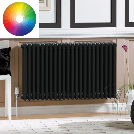 Old Style 3 Column Radiator 600mm high x 1059mm wide - 33 x Bespoke Colours