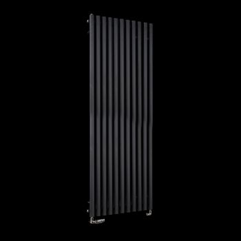 Circolo High BTU Black Designer Radiator 1800mm high x 590mm wide
