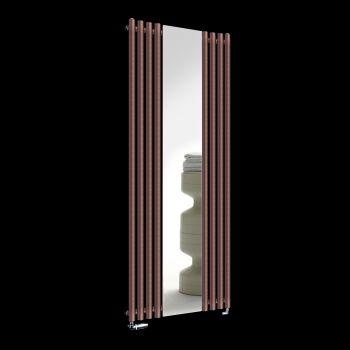 Circolo Brown Designer Mirror Radiator 1800mm x 700mm