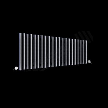 Circolo Low Level Dark Grey Electric Radiator 500mm high x 1195mm wide