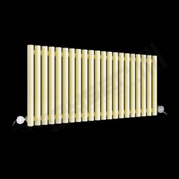 Circolo Low Level Light Cream Electric Radiator 500mm high x 1195mm wide