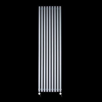 Circolo High Output Light Grey Electric Radiator 1800mm high x 480mm wide