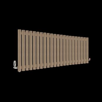 Circolo Sand Brown Designer Radiator 500mm high x 1195mm wide
