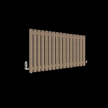 Circolo Sand Brown Designer Radiator 500mm high x 865mm wide