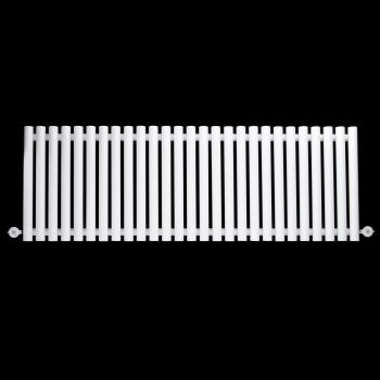 Circolo Large Horizontal White Ecodesign Electric Radiator 500mm high x 1470mm wide