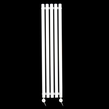 Circolo Ultra Thin White Ecodesign Electric Radiator 1200mm high x 260mm wide