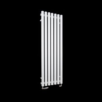 Circolo Thin White Designer Radiator 1200mm high x 370mm wide